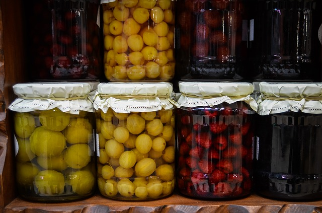 Obst-einkochen