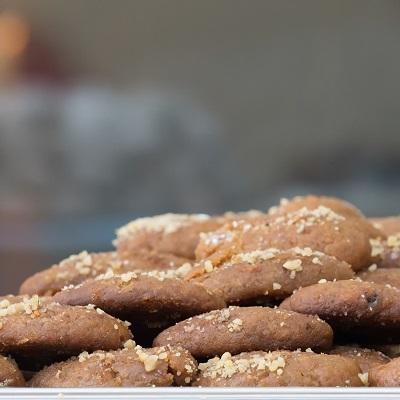 griechisches-weihnachtsessen-honigmakronen