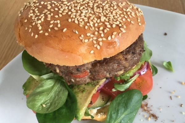 Baharat-Burger-Rezept